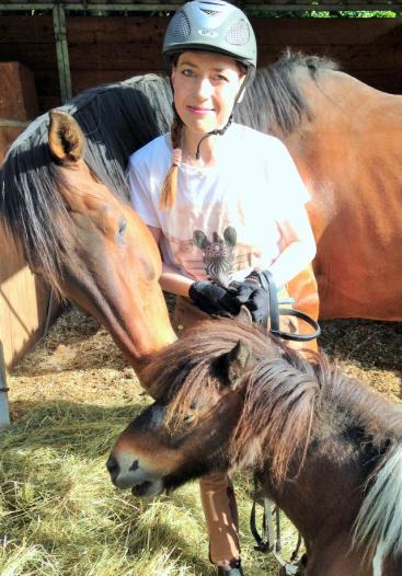 Pferde und Ponys verstehen sich meist blendend!