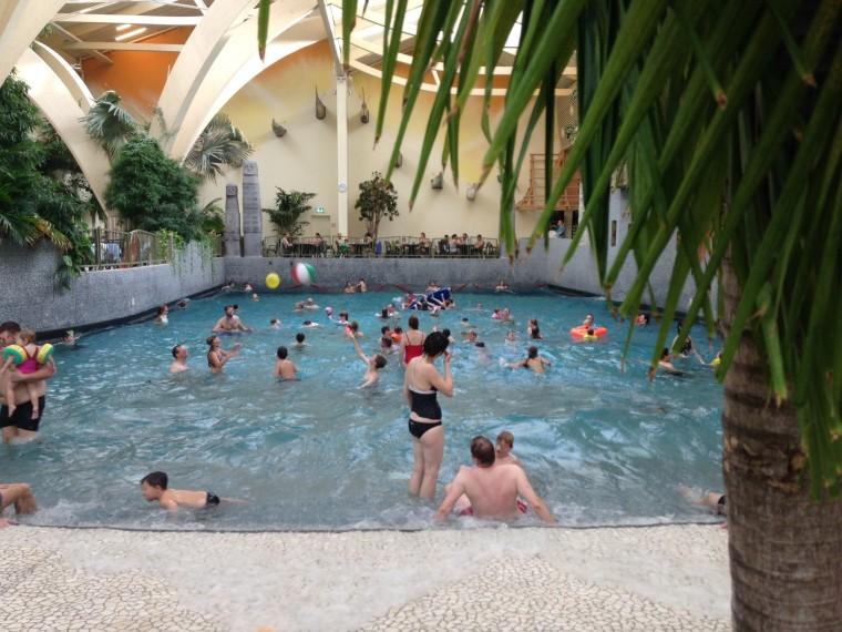 Wellenbad Aqua Mundo, Schwimmbad Saarland, CenterParcs