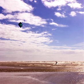 Kitesurfer, Strand, Meer, Le Touquet