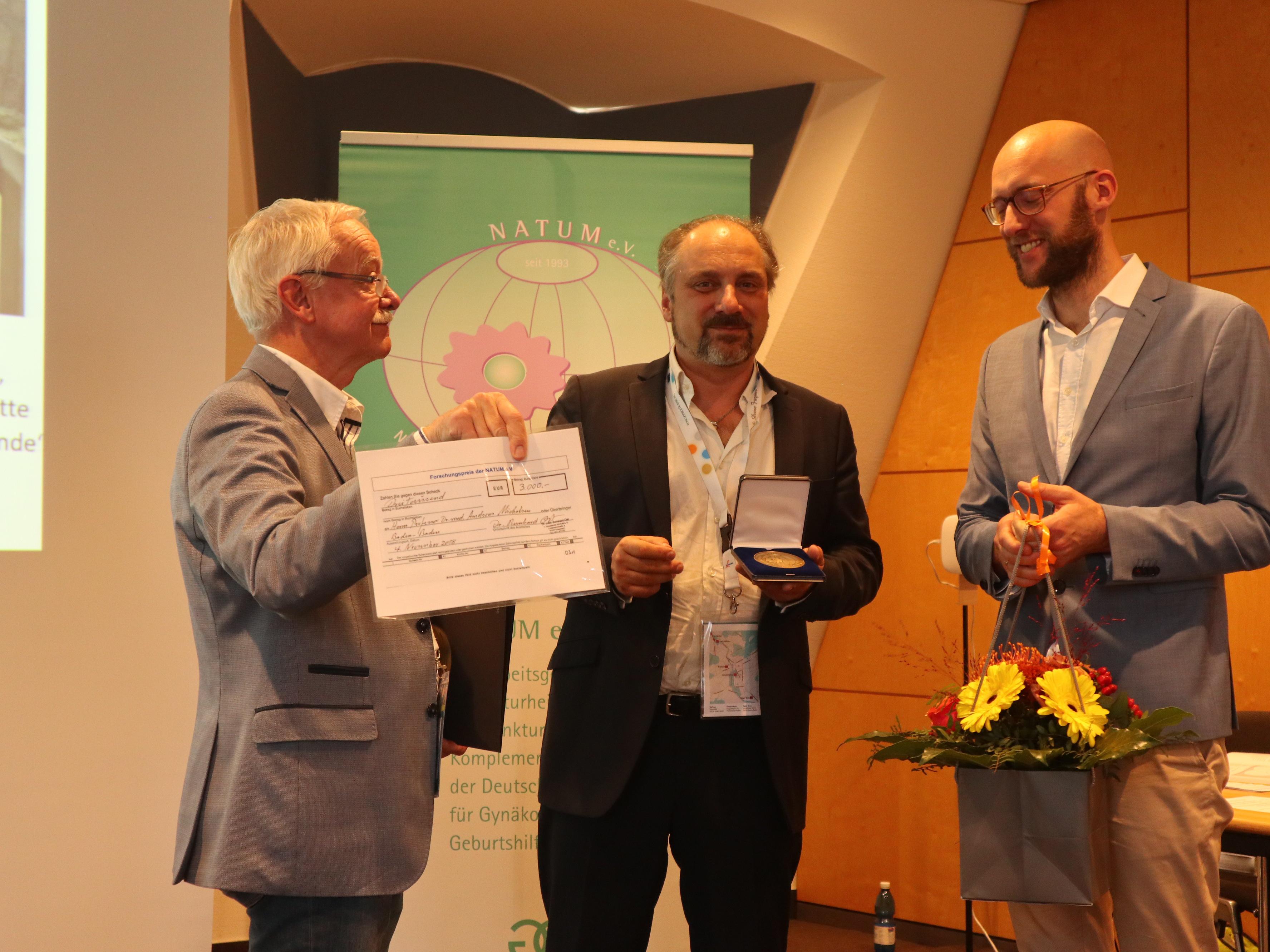 52. Medizinischen Woche Baden-Baden Teil 1: Vortragsreihe und Verleihung des Forschungspreises der NATUM
