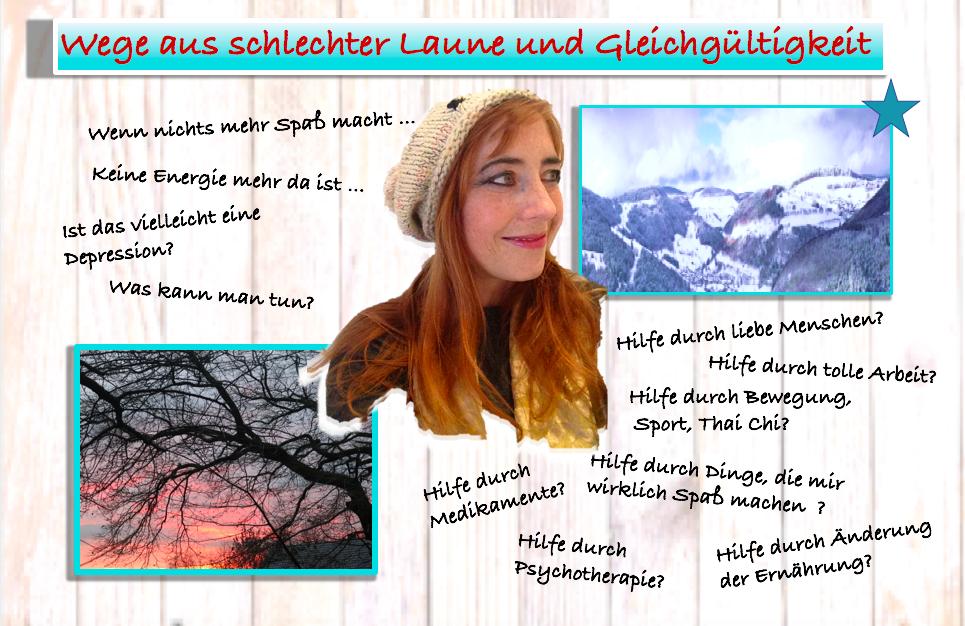 Medizin:  Depression und viele mögliche Ursachen: Giselas langer Weg zurück zur guten Laune!