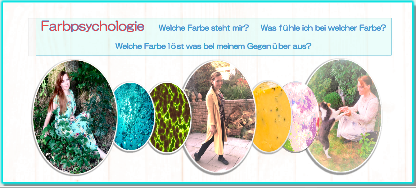 Farbpsychologie in der Mode: Welche Farbe kann ich tragen? Color psychology of fashion – Colors for me